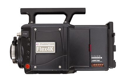 Wynajem kamery high speed Phantom Flex 4K